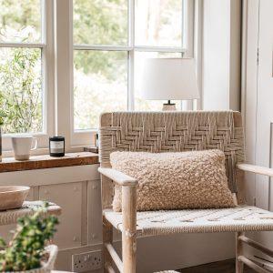 Lia Faux Sheepskin Cushion 30x50cm