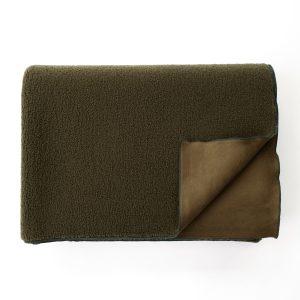 Fleece Blanket Olive Green