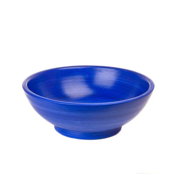 Ocean Blue Round Wash Basin