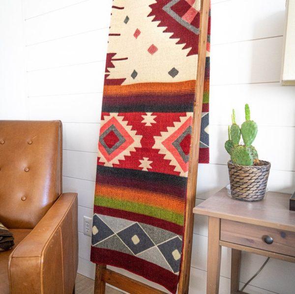 Crafted in Ecuador Wool Blanket